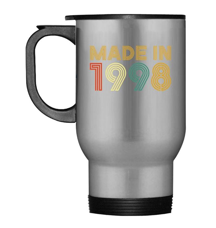Primary image for Made In 1998 20th Birthday Gift Retro Classic Travel Mug