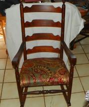 Cherry Ladderback Rocker / Rocking Chair - $299.00