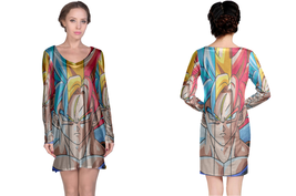 Dragonbal Super Saian Women's Long Sleeve Night Dress - $23.80+