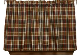 Olivia's Heartland MONTANA rustic country hunting cabin lodge TIER curtains - $32.95+