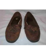 Womens Size 10 EASTLAND Brown Leather Loafers - $67.54