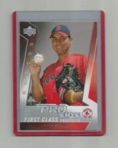 Anibal Sanchez (Boston) 2005 Upper Deck Pro Sigs First Class Prospects Rookie - $4.99