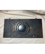 Antique/Vintage Mantle Clock Back  Door and Cast Iron Plate #127 (box10) - $19.79