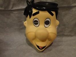 Flintstones Fred Mask Halloween Mask Pvc Child Size - $9.89