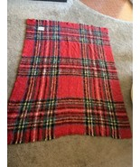 VINTAGE ST ALBANS MOHAIR Couch Bed Blanket Throw 64 x 47 - $77.94