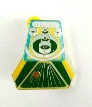 2017 DE OOTM Odyssey of the Mind Gold Tone Enamel Skeeball Lapel Pin  - $13.00