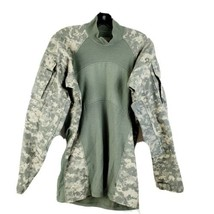 Massif Mountain Gear Company Mens Army Combat Shirt Pullover Fitted Size Medium  - $39.58