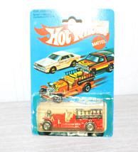 Mattel Hot Wheels Old No. 5 Fire Truck 1981 MOC - $20.90