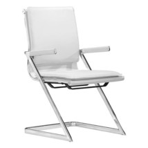 modern dining chairs, White Lider Plus contemporary conference chairs, s... - $635.99