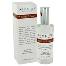 Demeter Whiskey Tobacco by Demeter 4 oz Cologne Spray for Men New in Box - $28.45