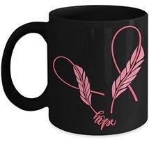 Hope Breast Cancer Awareness Coffee Mug - Ceramic Cup Pink Ribbon Surviv... - $14.95+