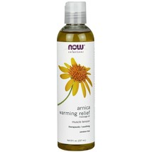 NOW Foods Arnica Warming Relief Massage Oil - 8 oz. - $23.21