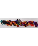 "Vintage 30"" Retro Girls Carolyn Tanner Designers Hand Made Belt Wooden B... - $18.99"