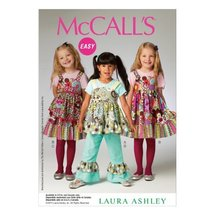 McCall Pattern Company M6826 Children's/Girls' Top, Dress, Apron and Pan... - $14.21