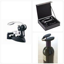 BarCraft Corkscrew Wine Opener Set with Bottle Stopper, Gift Box, 5 Pieces - $70.70