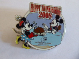 Disney Trading Broches 65989 Walt Studios Magasin - Happy Thanksgiving 2008 (M - $9.51