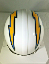 PHILLIP RIVERS / AUTOGRAPHED LOS ANGELES CHARGERS LOGO RIDDELL MINI HELMET / COA image 5