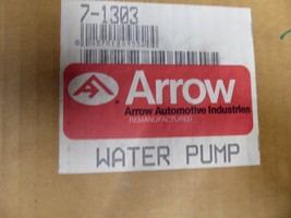 7-1303 GM Water Pump Remanufactured By Arrow 372334 image 2