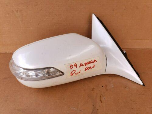 07-09 Hyundai Azera Door Wing Mirror Turn Signal Pwr Fold Passgr Right RH 12wire