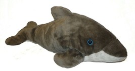 "Large Jumbo 27"" Sea World Busch Gardens Gray Dolphin Plush Stuffed Animal - $31.56"