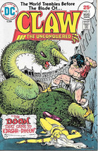 Claw The Unconquered Comic Book #2 DC Comics 1975 VERY FINE- - $3.75