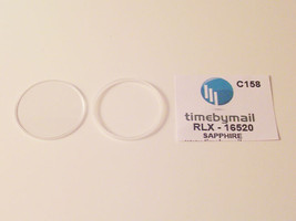 For ROLEX 16520 DAYTONA Sapphire Watch Crystal Replacement 30.4mm Part C158 - $51.62