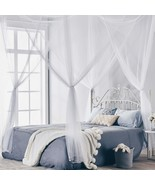 Four Corner Post Bed Princess Canopy Mosquito Net, Full/Queen/King Size - $52.99