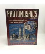 New York City Puzzle 1000 Pc. NYC Skyline Photomosaics Twin Towers New U... - $29.99