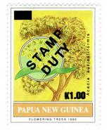 (I.B) Papua New Guinea Revenue : Stamp Duty 1K on 21t OP - $9.71