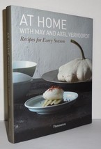 AT HOME WITH MAY AND AXEL VERVOORDT  Recipes for Every Season  - First E... - $49.50
