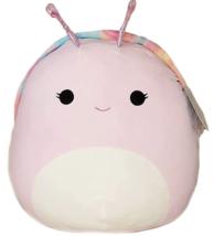 "Squishmallows Silvina The Snail 5"" Plush Doll Toy Winter 2021 Kellytoys - $13.85"