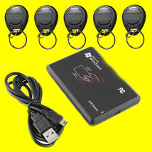 USB 125KHz RFID EM4305 T5567 Card Reader/Writer Copier/programmer burner... - $38.38