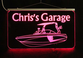 Personalized Boat Sign LED Man Cave Sign- Garage Sign, Bar sign, Camping Sign image 7