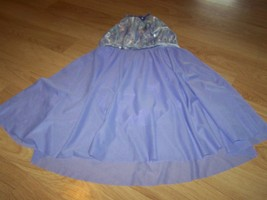 Child Size Large Weissman's Lilac Purple Long Skirted Dance Skating Leot... - $28.00