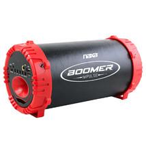 Naxa NAS-3084 BOOMER IMPULSE LED Bluetooth Boombox - Black/Red - $61.75