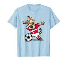 New Shirts - Dog Dabbing Soccer Denmark Jersey Shirt 2018 Danish Football Men - $19.95+