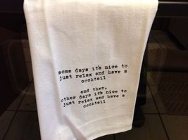 The Best Message Kitchen Gift Towel  Made in USA by Hand image 11