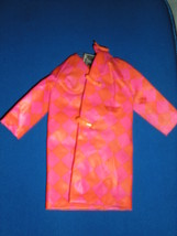 Barbie - Drizzle Dash Raincoat-Vintage 1968 - $9.95