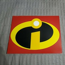 Disney Store The Incredibles Exclusive Lithographs Set With Portfolio Se... - $16.99