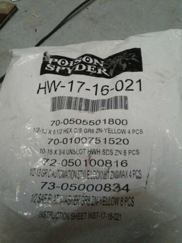 Poison Spyder hardware HW 17 16 021 (jew)