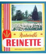 INK BLOTTER French AD: 1955 Reinette Biscottes Biscuits Paris Parc de Ba... - $4.05