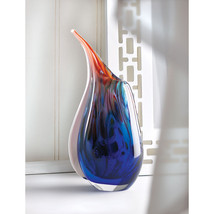 Dreamscape Abstract Artist Art Glass Vase - $48.95