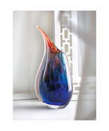 Dreamscape Abstract Artist Art Glass Vase - $65.32 CAD
