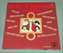 The Best of TOMMY JAMES and THE SHONDELLS LP Record Vinyl Excellent - £5.16 GBP