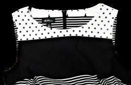 Alxy Dress, Black and White, Sleeveless, Size 14 image 3