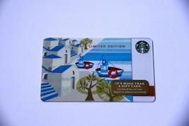 Starbucks Christmas 2014 Greek Island Boats $0 Value Gift Card Limited E... - $7.99