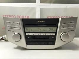 Lexus RX 330 RX330 RX400h Radio 6 CD Player AP6860 86120-0E050 P6847 TO1005 - $210.25