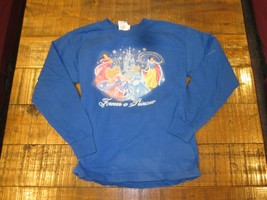 WDW Disney Forever a Princess Long Sleeve Girl's Shirt Size Small New, Washed 1X - $9.99