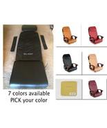 SHIATSULOGI Massage seat back pillow cushion upholstery cover pedicure s... - $134.39+