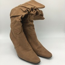 White Mountain Brown High Heel Suede Boots,Size 9.5 - £20.80 GBP